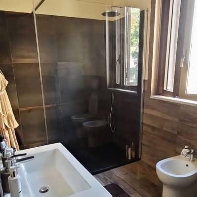 ristrutturazione bagno: dettaglio box doccia