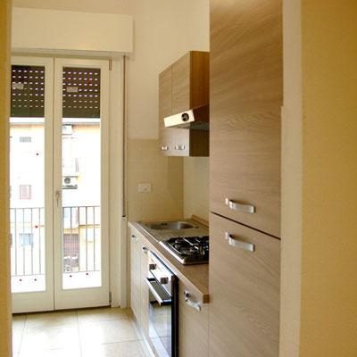 kitchen renovation in Bologna