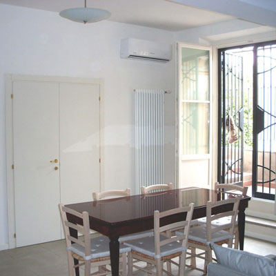 replacement windows and dining room renovation in Bologna